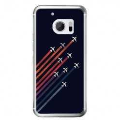 Etui na telefon HTC 10 - samoloty odrzutowe.