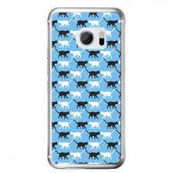 Etui na telefon HTC 10 - kotki pattern.