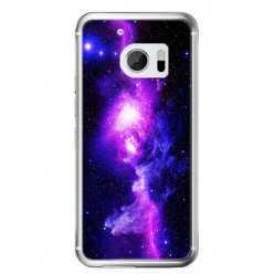 Etui na telefon HTC 10 - fioletowa galaktyka.