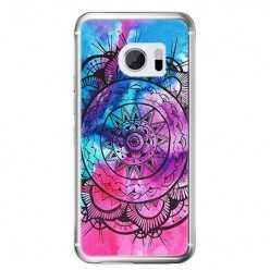 Etui na telefon HTC 10 - rozeta watercolor.