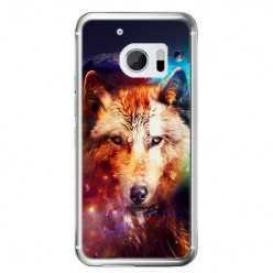 Etui na telefon HTC 10 - wilk z galaktyki.