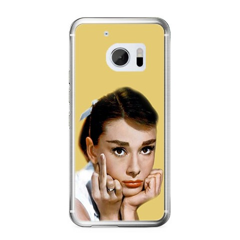 Etui na telefon HTC 10 - Audrey Hepburn F... You.