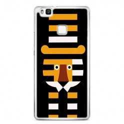 Etui na telefon Huawei P9 Lite - pasiasty tygrys.