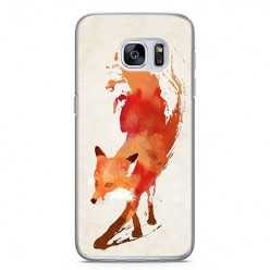 Etui na telefon Samsung Galaxy S7 - watercolor Lis.