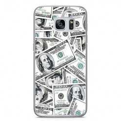 Etui na telefon Samsung Galaxy S7 - banknoty dolarowe.