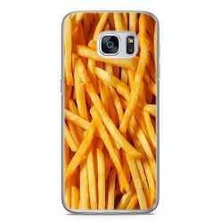 Etui na telefon Samsung Galaxy S7 - usmażone frytki.