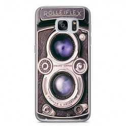 Etui na telefon Samsung Galaxy S7 - aparat retro rolleiflex.