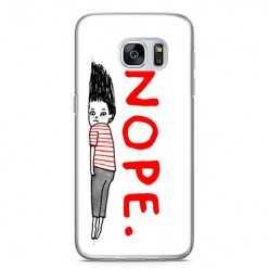 Etui na telefon Samsung Galaxy S7 - NOPE.