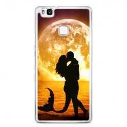Etui na telefon Huawei P9 Lite - romantyczny pocałunek.