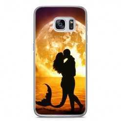 Etui na telefon Samsung Galaxy S7 - romantyczny pocałunek.