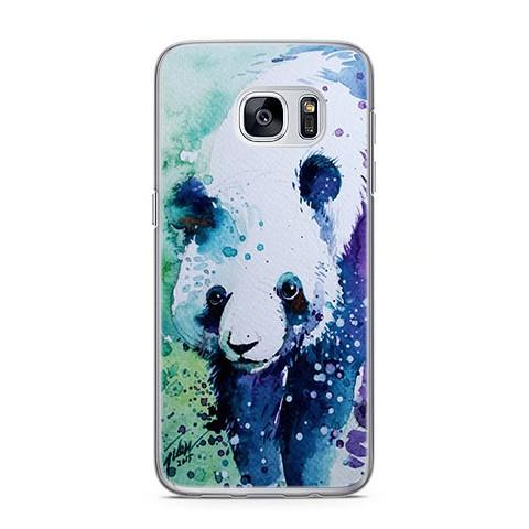 Etui na telefon Samsung Galaxy S7 Edge - miś panda watercolor ... 6820a397d1fb