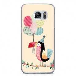 Etui na telefon Samsung Galaxy S7 Edge - polarne zwierzaki.