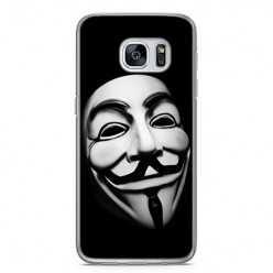 Etui na telefon Samsung Galaxy S7 Edge - maska anonimus.