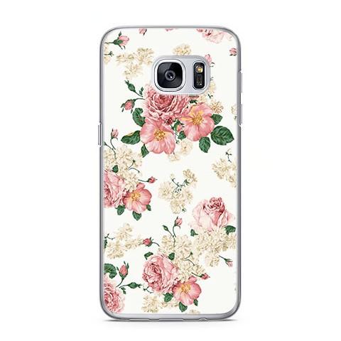 Etui na telefon Samsung Galaxy S7 Edge - kolorowe polne kwiaty ... 920bbe07e0f4