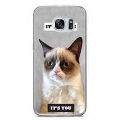 Etui na telefon Samsung Galaxy S7 Edge - kot maruda.