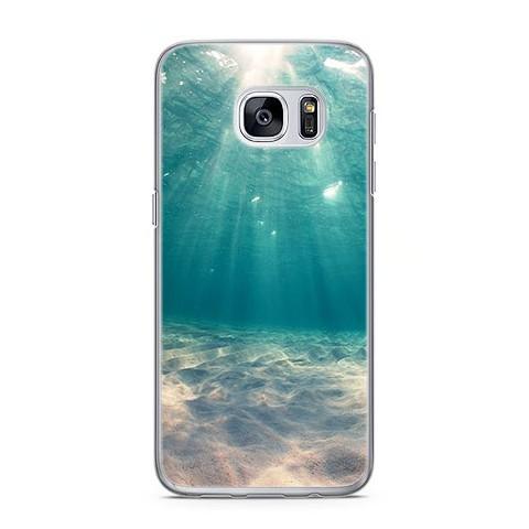Etui na telefon Samsung Galaxy S7 Edge - krajobraz pod wodą. - Etui ... df6bafc62c34