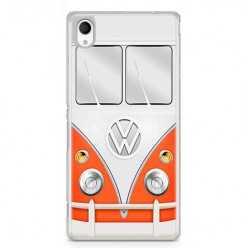 Etui na telefon Sony Xperia XA - samochód Van Bus.