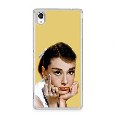 Etui na telefon Sony Xperia XA - Audrey Hepburn F... You.