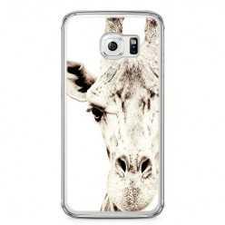 Etui na telefon Samsung Galaxy S6 - żyrafa.