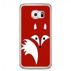 Etui na telefon Samsung Galaxy S6 - czerwony lisek.