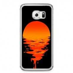 Etui na telefon Samsung Galaxy S6 - zachodzące słońce.