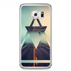 Etui na telefon Samsung Galaxy S6 - autostrada do nikąd.