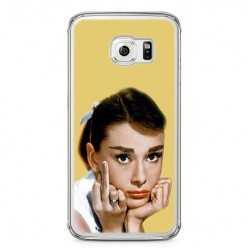 Etui na telefon Samsung Galaxy S6 - Audrey Hepburn F... You.