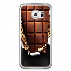 Etui na telefon Samsung Galaxy S6 - tabliczka czekolady.