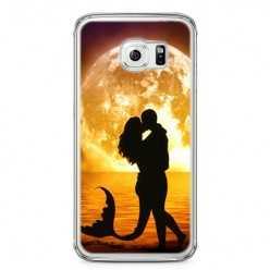 Etui na telefon Samsung Galaxy S6 - romantyczny pocałunek.