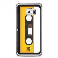 Etui na telefon Samsung Galaxy S6 Edge - retro kaseta magnetofonowa.