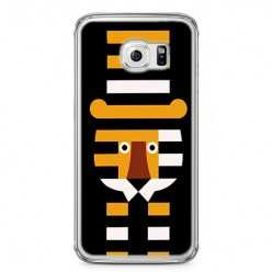 Etui na telefon Samsung Galaxy S6 Edge - pasiasty tygrys.