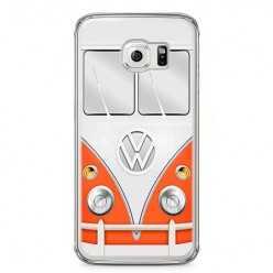 Etui na telefon Samsung Galaxy S6 Edge - samochód Van Bus.