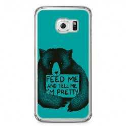 Etui na telefon Samsung Galaxy S6 Edge - Feed Me and...