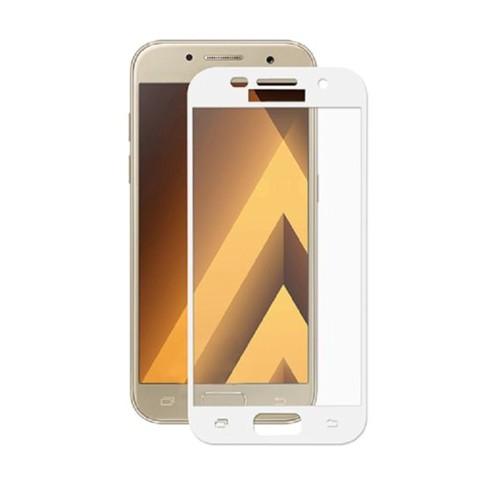 Hartowane szkło na Cały ekran 3D - Galaxy A5 2017 - biały.