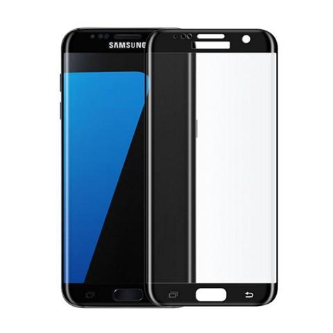Hartowane szkło na Cały ekran 3D - Galaxy S7 Edge - czarny.
