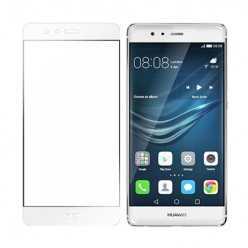 Hartowane szkło na Cały ekran 3D - Huawei P9 - biały.