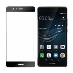 Hartowane szkło na Cały ekran 3D - Huawei P9 - czarny.