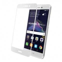 Hartowane szkło na Cały ekran 3D - Huawei P9 Lite 2017- biały.