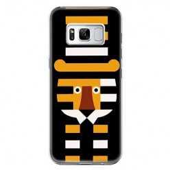 Etui na telefon Samsung Galaxy S8 - pasiasty tygrys.