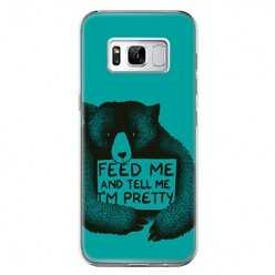 Etui na telefon Samsung Galaxy S8 - Feed Me and...