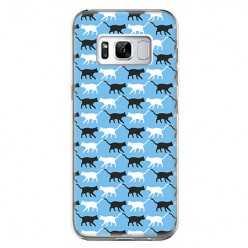 Etui na telefon Samsung Galaxy S8 - kotki pattern.