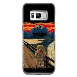 Etui na telefon Samsung Galaxy S8 - parodia obrazu krzyk.