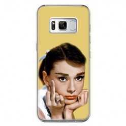 Etui na telefon Samsung Galaxy S8 - Audrey Hepburn F... You.