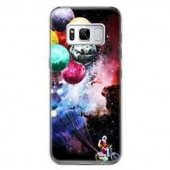 Etui na telefon Samsung Galaxy S8 Plus - balonowe planety.