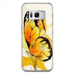 Etui na telefon Samsung Galaxy S8 Plus - motyl watercolor.