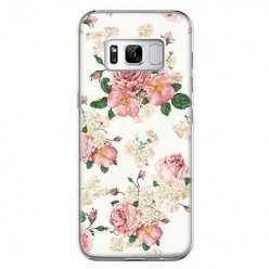 Etui na telefon Samsung Galaxy S8 Plus - kolorowe polne kwiaty.