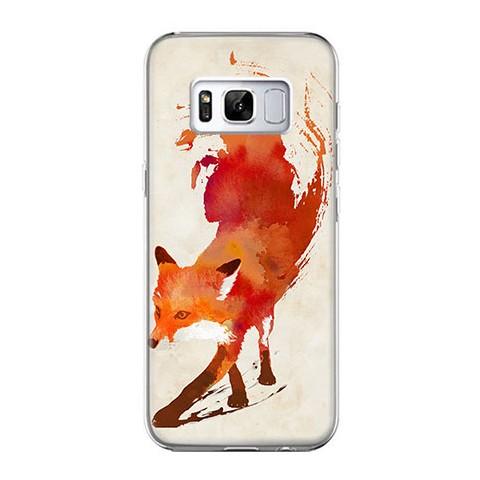 Etui na telefon Samsung Galaxy S8 Plus - lis watercolor.