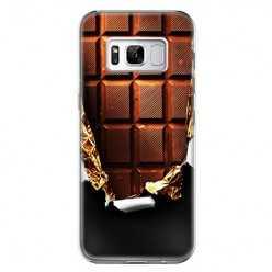 Etui na telefon Samsung Galaxy S8 Plus - tabliczka czekolady.