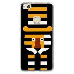 Etui na telefon Huawei P10 Lite - pasiasty tygrys.