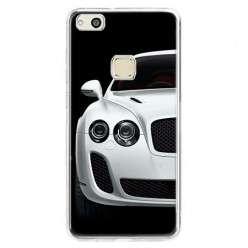Etui na telefon Huawei P10 Lite - biały samochód.